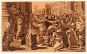 Raffaello, Il sacrificio di Listra