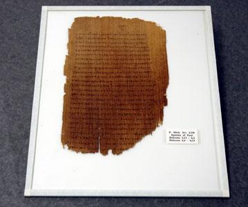 datazione di manoscritti del nuovo testamento